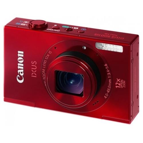 CANON IXUS 500 HS červený